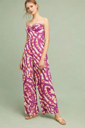 Plenty by Tracy Reese Shyra Printed-Strapless Jumpsuit