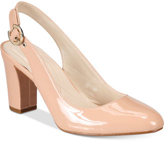 Alfani Women's Laylaa Slingback Pumps, Only at Macy's $69.50 thestylecure.com