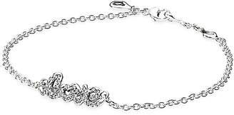 Pandora Signature Of Love Silver Bracelet