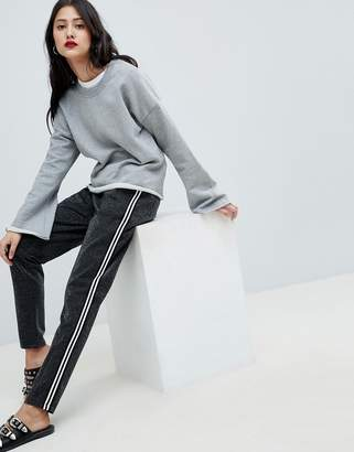 Vero Moda sporty stripe trousers
