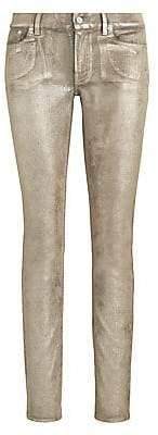 Ralph Lauren Women's 160 Slim Shaved Velvet Jeans