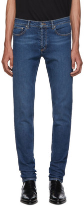 Givenchy Blue New Skinny-Fit Jeans