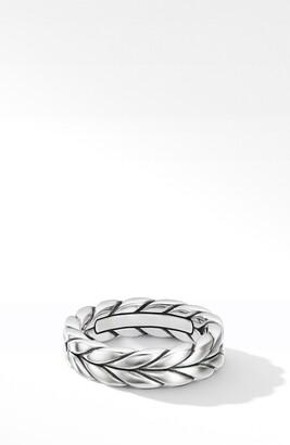 David Yurman Chevron Woven Band Ring