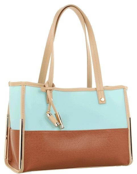 Ivanka Trump Crystal Satchel (Teal) - Bags and Luggage