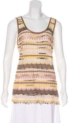 Missoni Knit Silk-Blend Top