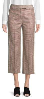 Marella Houndstooth Cropped Pants