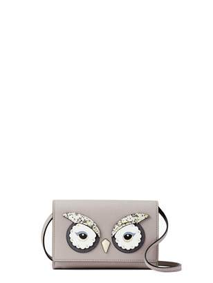 Kate Spade new york star bright owl summer Crossbody Bags Women's Leather Handbag