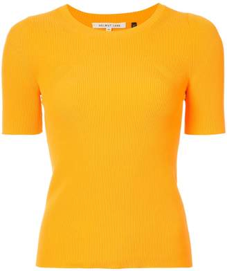 Helmut Lang ribbed slim fit T-shirt