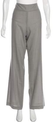 Akris Wool Skinny Pants Grey Wool Skinny Pants