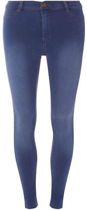 Dorothy Perkins Womens **Tall Blue 'Frankie' Super Skinny Jeans