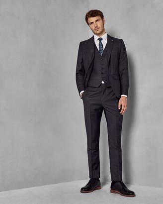 Ted Baker SAFRANW Geo skinny fit wool waistcoat