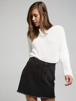 Dotti Jessie A-Line Mini Skirt
