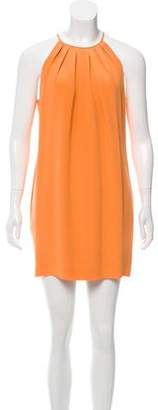 Jay Godfrey Sleeveless Silk Dress
