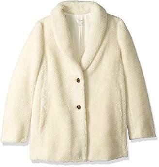 J.Crew Mercantile Women's Teddy Fleece Shawl Collar Coat