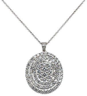 Leo Pizzo Iconic Must Have 18k White Gold Diamond Pendant