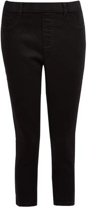 Dorothy Perkins Womens Black 'Eden' Super Soft Cropped Jeggings