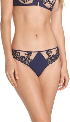 Simone Perele 'Saga' Embroidered Thong