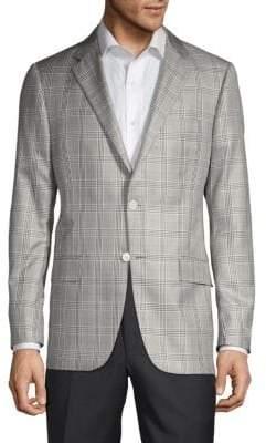 Hickey Freeman Milburn II Regular-Fit Silk Sportcoat