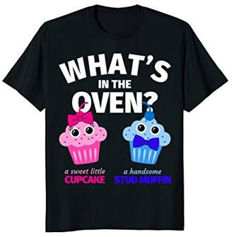 Gender Reveal Party Shirts - Funny Cupcake/Muffin Gift