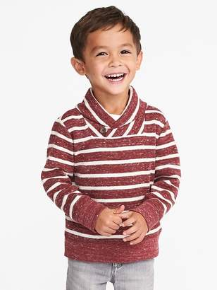 Old Navy French-Rib Shawl-Collar Sweater for Toddler Boys