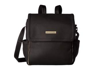 Petunia Pickle Bottom Matte Leatherette Boxy Backpack