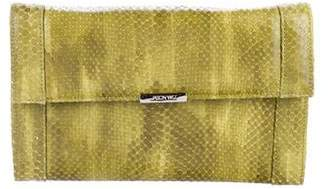 Jason Wu Snakeskin Clutch