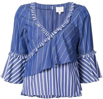 Cinq à Sept striped blouse