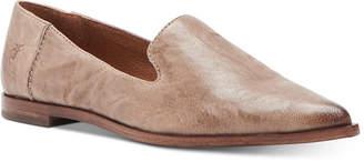 Frye Women Kenzie Venetian Smoking Flats Women Shoes