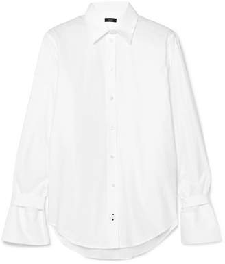 Joseph Rem Cotton-poplin Shirt - White