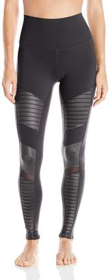 Alo Yoga Women's High Waisted Moto Legging