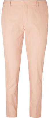 Dries Van Noten Patrini Slim-Fit Cropped Cotton-Twill Trousers