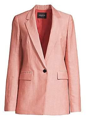 Lafayette 148 New York Women's Rhoda Linen & Wool Blazer