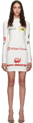 Off-White Off White SSENSE Exclusive White Sporty Dress
