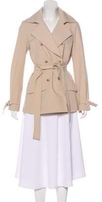 St. John Double-Breasted Short Coat