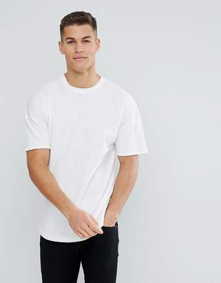 Tom Tailor Boxy Fit T-Shirt With Dropped Shoulder