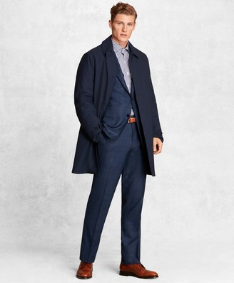 Brooks Brothers Golden Fleece BrooksTech Wool-Blend Trench Coat