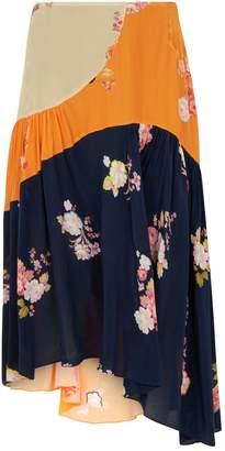 Preen Line Floral Lilja Skirt