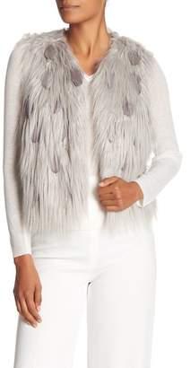 Elie Tahari Lopez Faux Fur Vest
