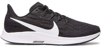 Nike Running - Air Zoom Pegasus 36 Mesh Running Sneakers - Black