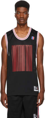 Alexander Wang Black Sports Tank Top
