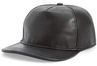Goorin Bros. Brothers Corner Pocket Leather Baseball Cap