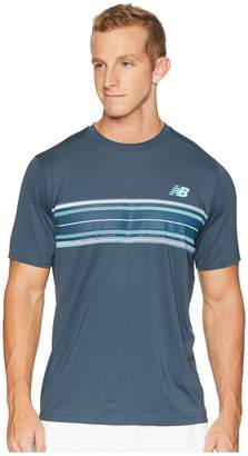 New Balance Rally Crew Top Men's Short Sleeve Pullover