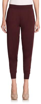 Stella McCartney Women's Virgin Wool & Silk Knit Jogger Pants