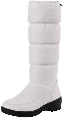 Odetina Women's Winter Warm Synthetic Knee High Snow Boots