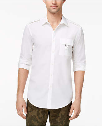 INC International Concepts I.n.c. Men's Button-Down Shirt, Created for Macy's