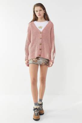 Urban Outfitters Starry Night Button-Front Cardigan