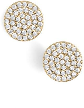 Women's Nadri 'Geo' Stud Earrings $40 thestylecure.com