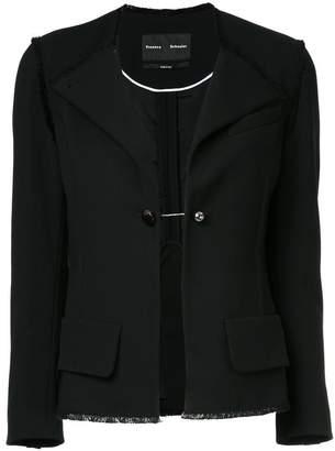 Proenza Schouler Asymmetrical Front Blazer