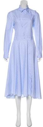 Cédric Charlier Maxi Shirt Dress