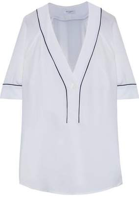Equipment Atley Washed-Silk Top